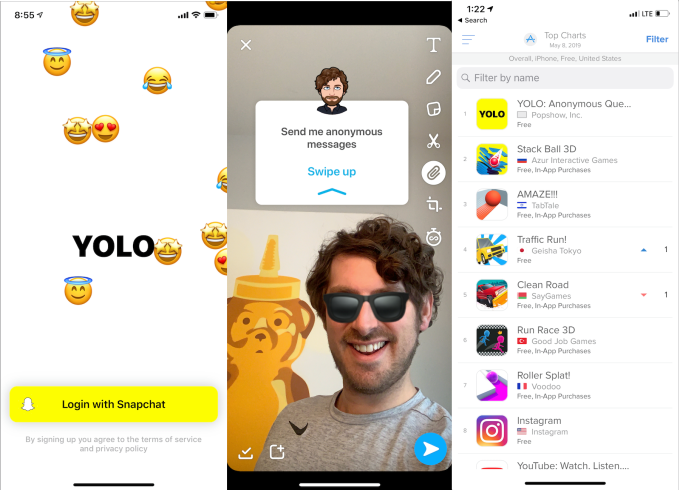 Yolo Snapchat : How to Do Anonymous Questions on Snapchat - Yolo App