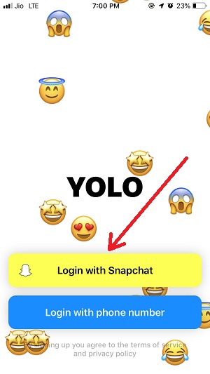 OnYolo Anonymous Message App - Send Anonymous Messages on
