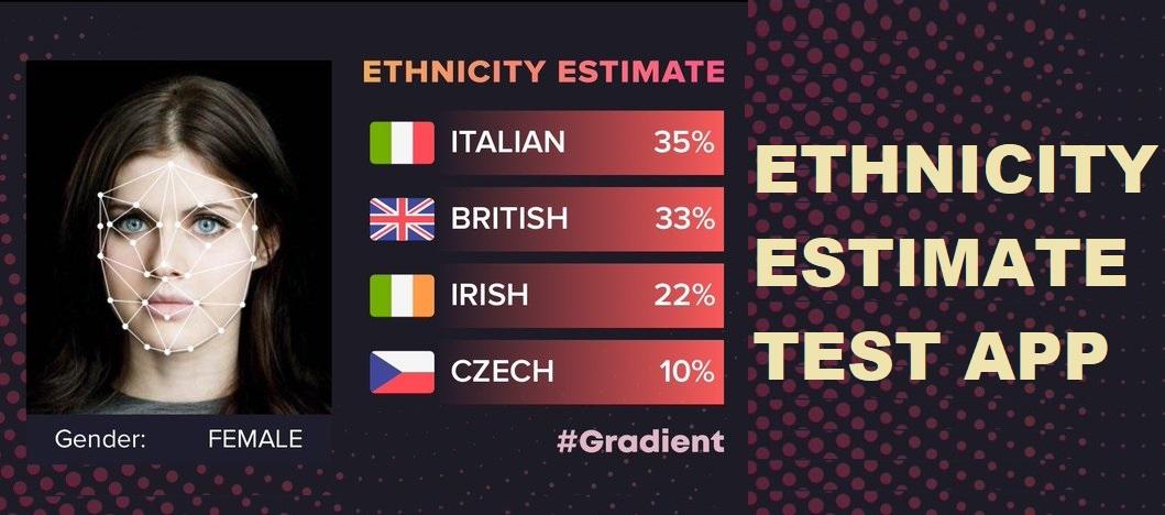 Ethnicity test app