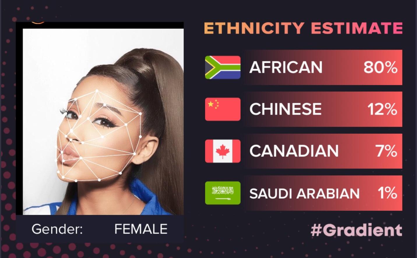 ethnicity estimate gradient app